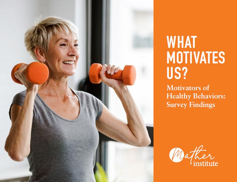 Motivators of Healthy Behavior report cover